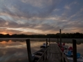 Sunrise from the Boat Dock