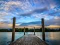 Sunset Dock Horizontal